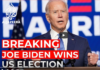 Joe Biden wins election