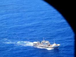 Suspicious fishing vessels