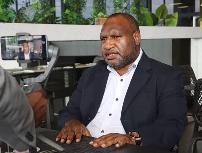 'Stay clear' of PNG's political crisis, Marape tells public