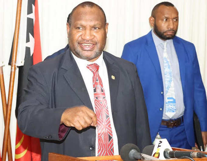 PNG Supreme Court dismisses challenge to Marape's election