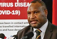 PNG PM James Marape - Huli