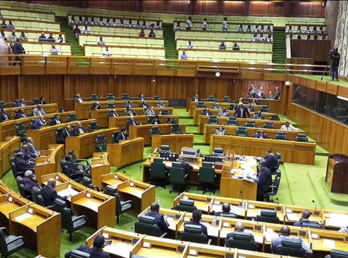PNG Parliament chamber