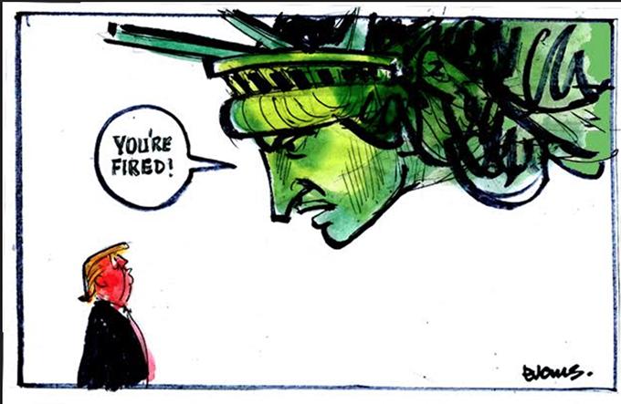 Malcolm Evans cartoon