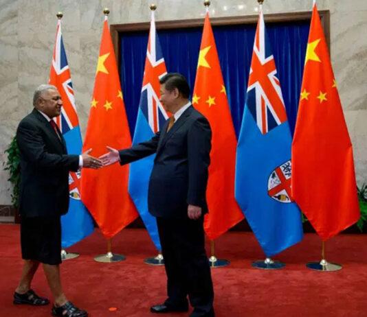 Bainimarama and Xi