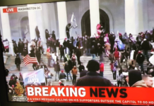 Breaking news - Capitol stormed