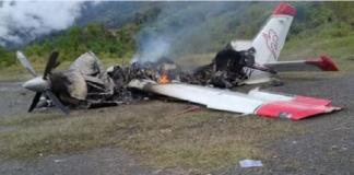 MAF missionary plane
