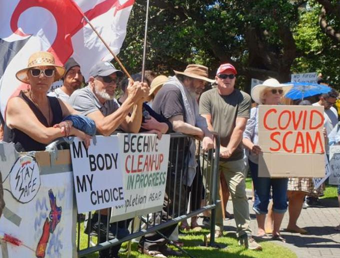 NZ 'freedom' rally