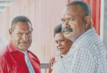 Fred Yakasa and Sylvester Kalaut