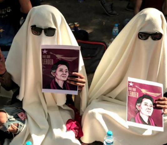 Ghost demonstrators