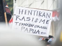 Papuan protest Medan