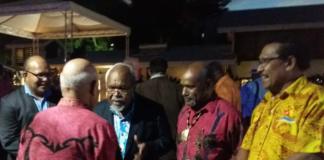 Sir Michael Somare with ULMWP