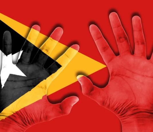 Timor-Leste hands
