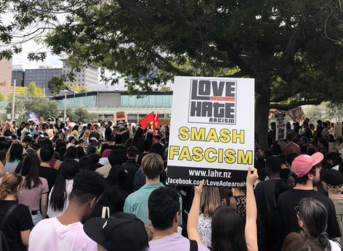 Auckland rally against racism