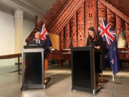 PMs Mark Brown & Jacinda Ardern