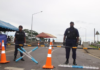 Suva police roadblock