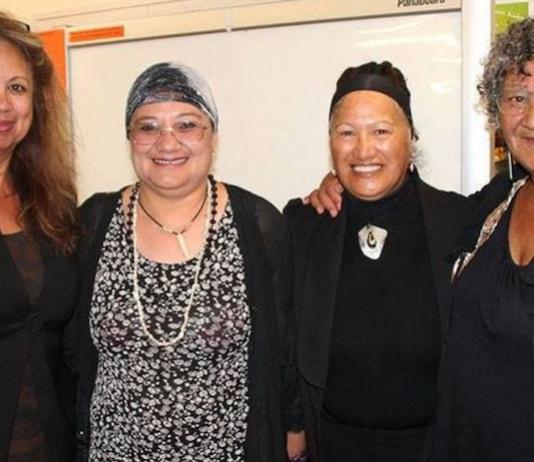 Miriama Rauhihi Ness (second from right)