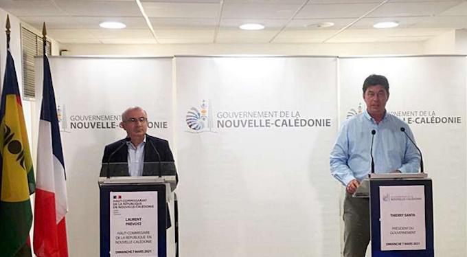 Laurent Prévost and Thierry Santa