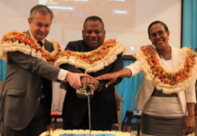 Fiji police powers cake