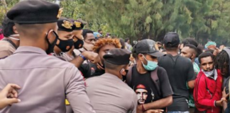 Semarang protest