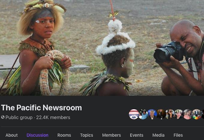 The Pacific Newsroom