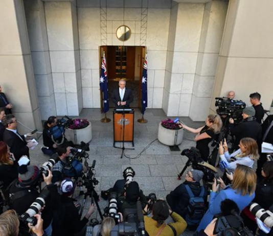 Canberra media conference