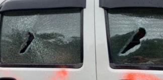 Attack on Victor Mambor's car