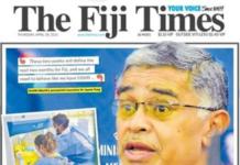 "Fiji's health ""call to arms"" 290421"