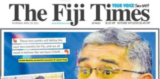 "Fiji's health ""call to arms"" 290421"