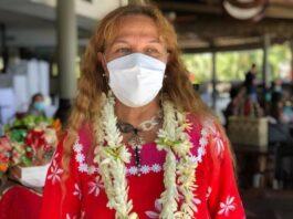 Tahitian Family Minister Isabelle Sachet