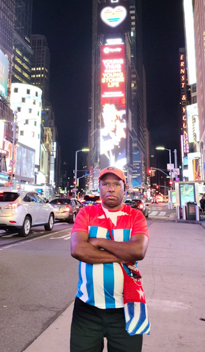 John Anari West Papua in NY