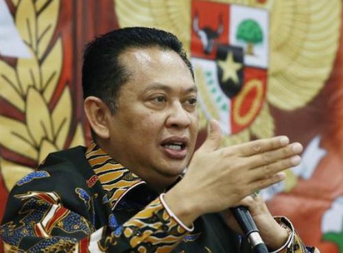 MPR Speaker Bambang Soesatyo
