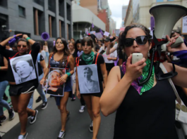 The March 4, 2021, gender justice rally, Australia