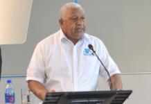 Fiji Prime Minister Voreqe Bainimarama