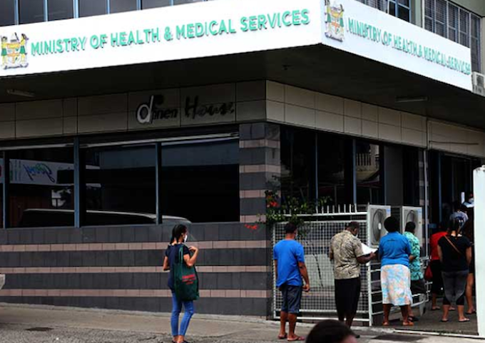 Fijians rush to get health passes
