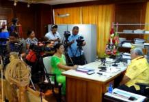 Samoa media conference 21042021