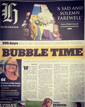 Bubble time - NZ Herald