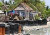 Pacific villagers protest shoreline