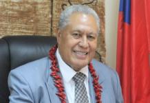 Samoa's Head of State Tuimalealiifano Vaaletoa Sualauvi II