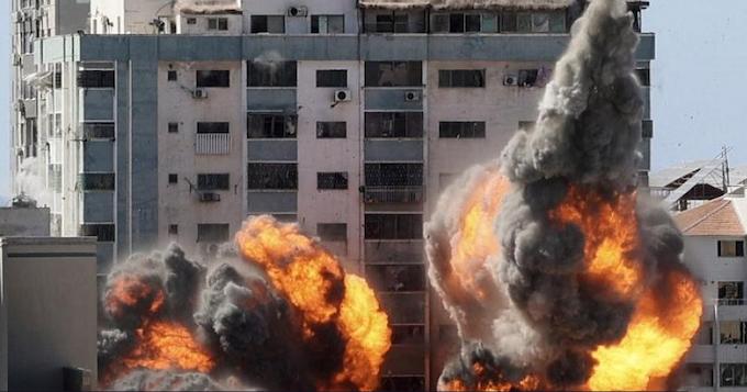 Al Jazeera bombed