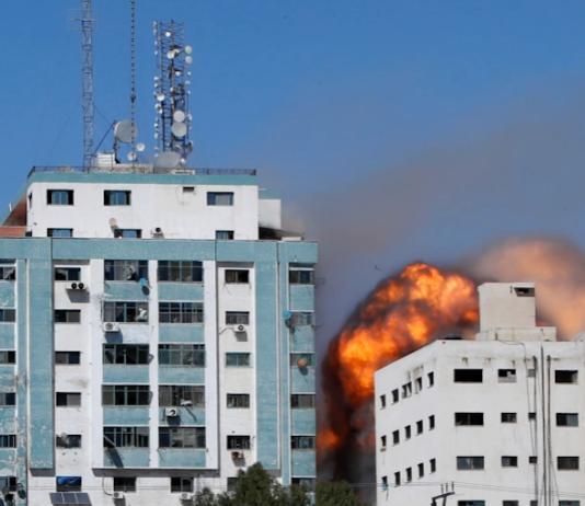 Al Jazeera offices attacked