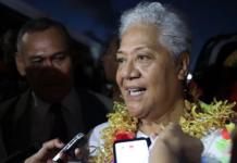 Prime Minister-elect Fiame Naomi Mata'afa 260521