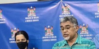 Fiji health media conference 020521
