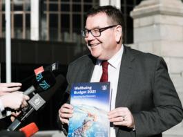 NZ Finance Minister Grant Robertson