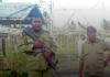 Armed guards at Giligili jail