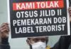 No to Special Autonomy placard