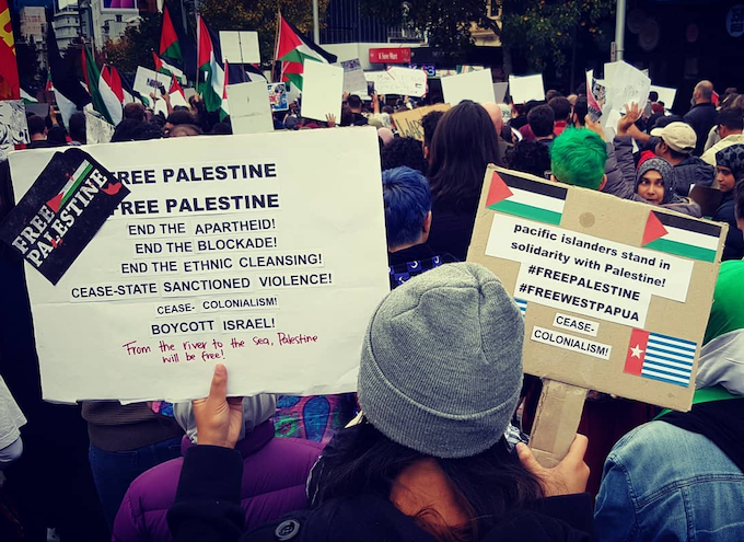 Pacific Islanders for Palestine and West Papua