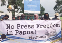 Papua media freedom