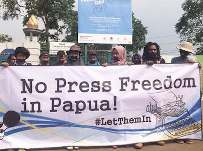 Papua media freedom