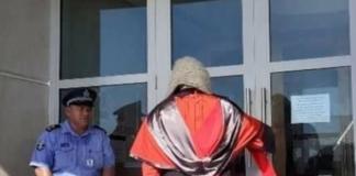 Samoa's Chief Justice Satiu Simativa Perese - locked door