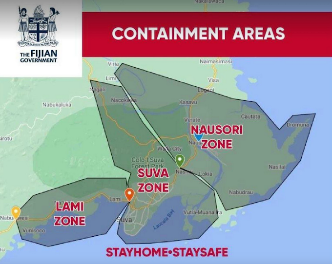 Fiji containment zone